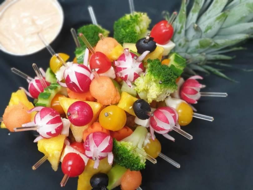 hérisson de légumes